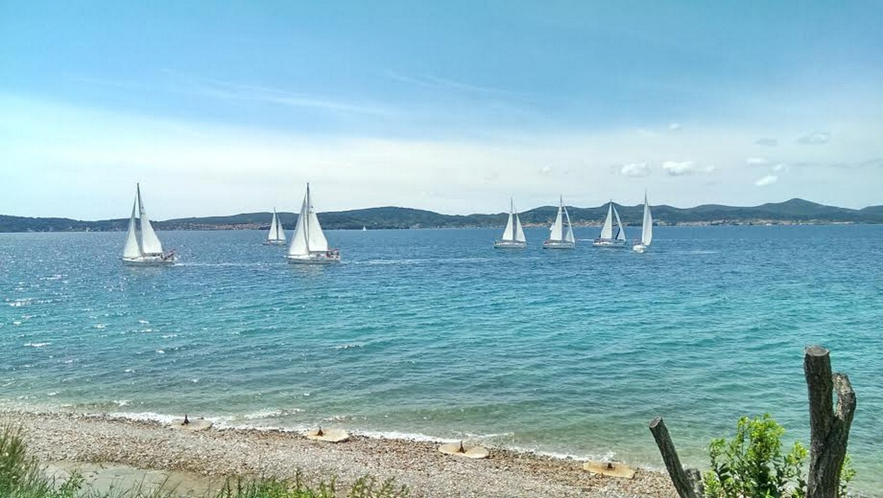 Sailingin the search of lovely beaches in Zadar archipelagp